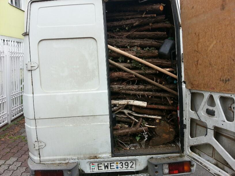 Fa hulladék elszállítás